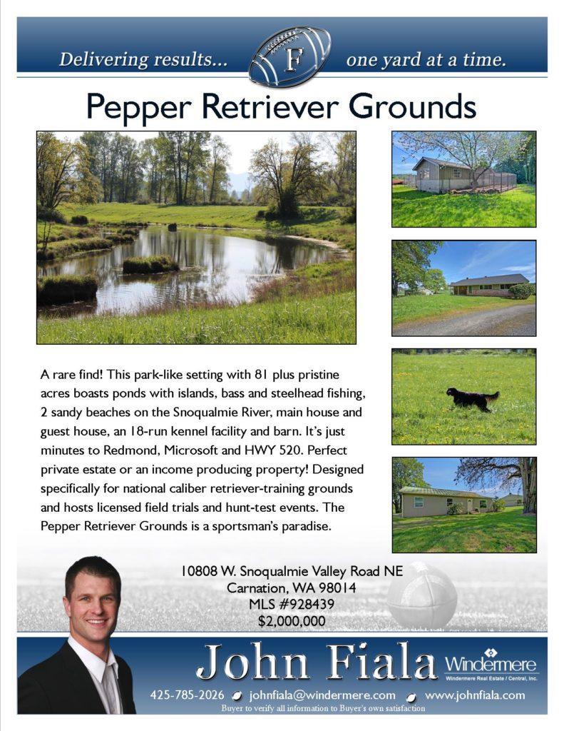 Pepper Retriever Grounds