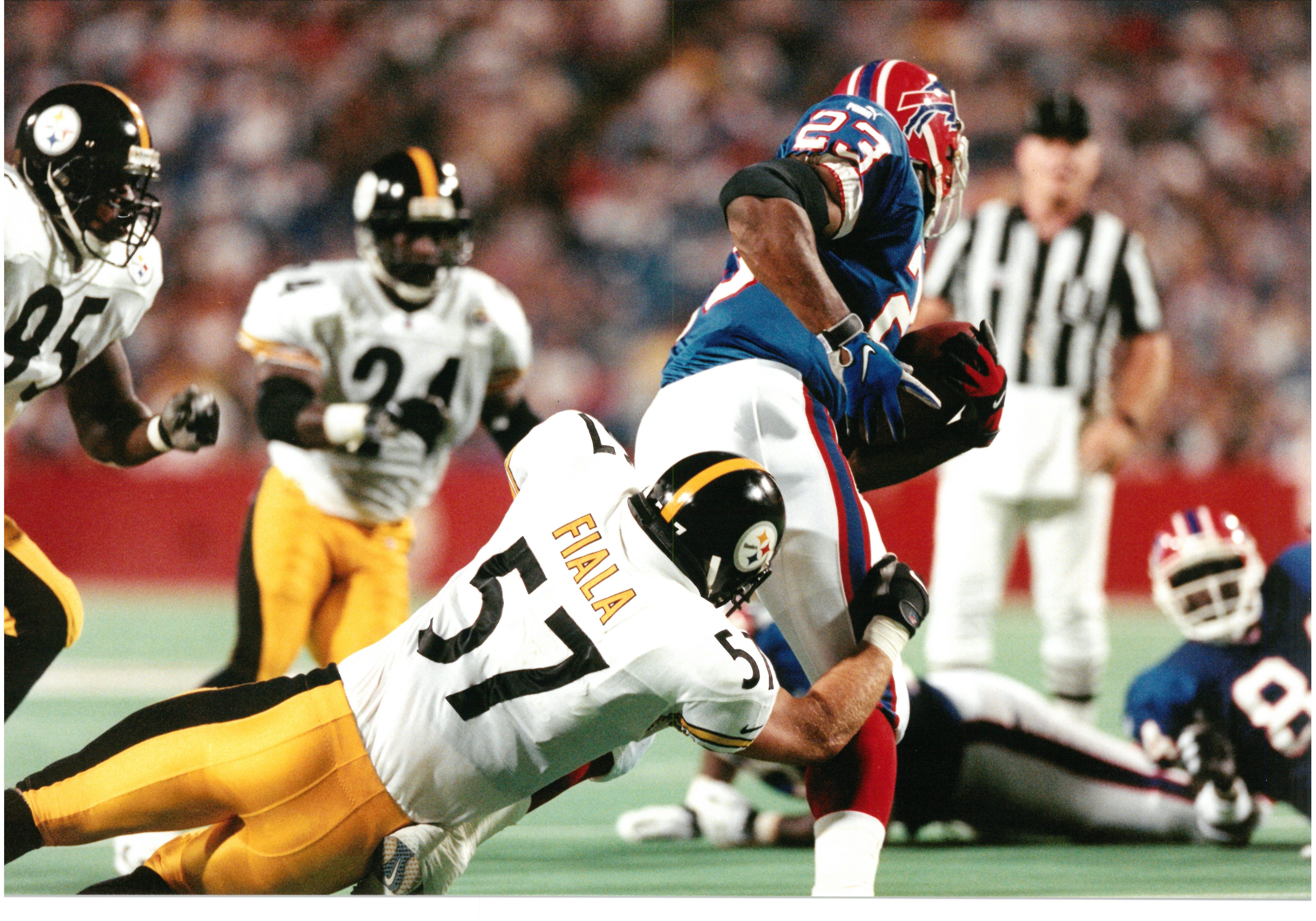 John Fiala Steelers vs Bills